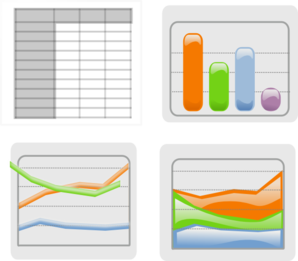Table And Charts Clip Art