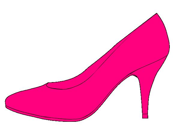 pink shoe clip art at vector clip art online. Black Bedroom Furniture Sets. Home Design Ideas
