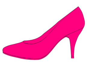 Pink Shoes Clipart