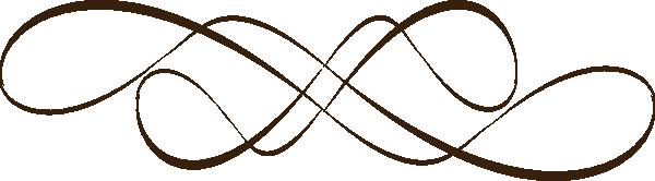 Line Design Images : Swirl design teal clip art at clker vector