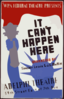 Wpa Federal Theatre Presents  It Can T Happen Here  Dramatized By Sinclair Lewis & J.c. Moffitt : Adelphi Theatre, 54th Street East Of 7th Ave. Clip Art