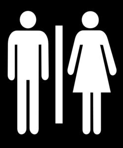 Toilet Gents / Ladies Clip Art