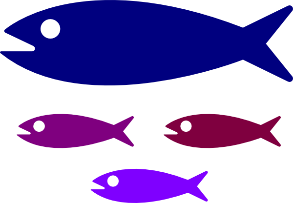 fish family clip art at clker com vector clip art online horn clip art image horn clipart black and white