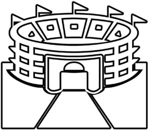 stadium outline clip art at clker com vector clip art football outline clip art in brown football outline clip art free
