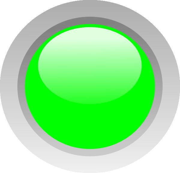 Led Green Clip Art At Clker Com Vector Clip Art Online