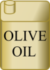 Olive Oil Can Clip Art