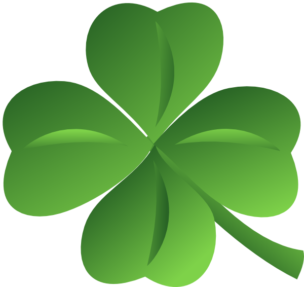 Four Leaf Clover Clip Art At Clker Com Vector Clip Art