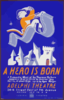 A Hero Is Born  A Romantic Musical By Theresa Holburn - Based On An Original Story By Andrew Lang : Music By A. Lehman Engel - Lyrics By Agnes Morgan / Halls. Clip Art
