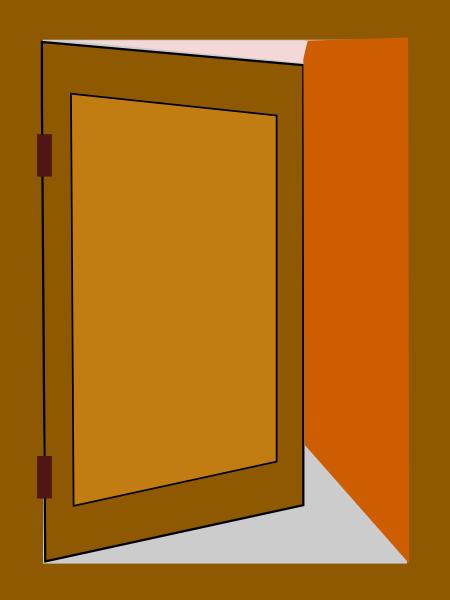 Door 4 Clip Art at Clker com vector clip art online