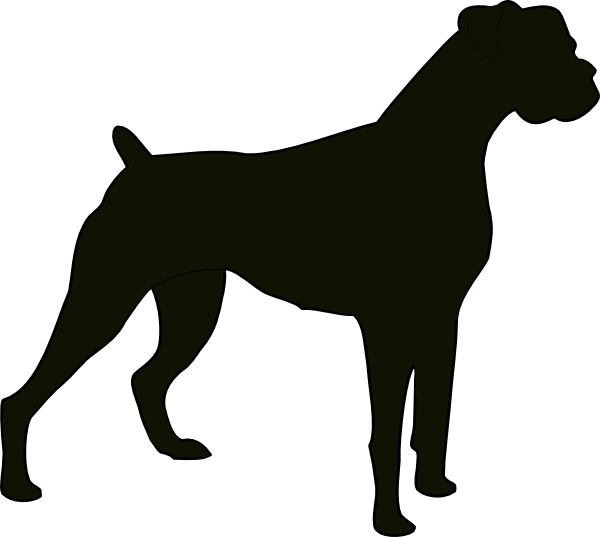 Free Boxer Dog Svg File