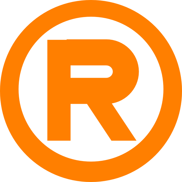 Orange Letter W Logo