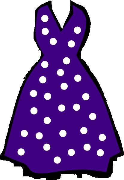 Polka Dot Dress Clip Art at Clker.com - vector clip art ...