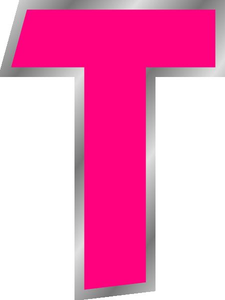 Letter T Clip Art At Clker Com