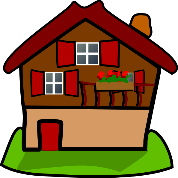 Cartoon House Clip Art At Clker Com Vector Clip Art
