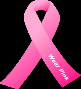 breast cancer awareness pink ribbon clip art at clker com vector rh clker com Pink Ribbon Clip Art Pink Cancer Ribbon Clip Art