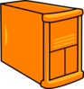 Orange Server Clip Art