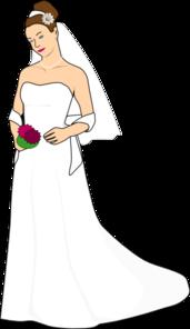 Bride Clip Art At Clker Com Vector Clip Art Online