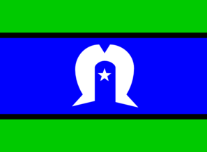 Flag Of The Torres Strait Islanders Clip Art