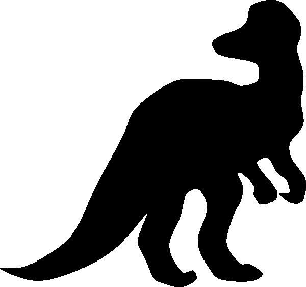 Corythosaurus Silhouette Clip Art at Clker.com - vector ...