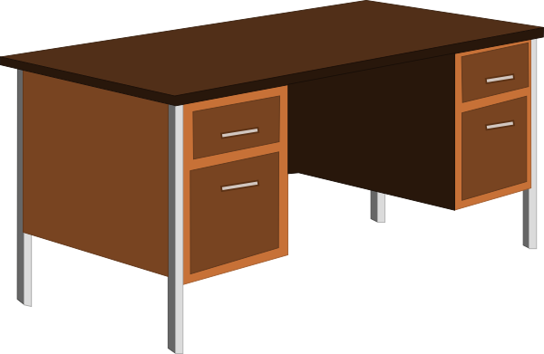 Office Desk Clip Art At Clker Com Vector Clip Art Online