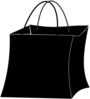 Black Bag Clip Art