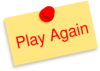 Play Again Note Clip Art