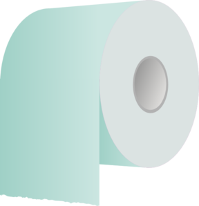 Toilet Paper Roll Revisited Clip Art