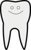 Smiley Tooth Clip Art