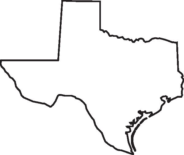 Texas Outline Clip Art at Clker.com - vector clip art online, royalty free & public domain