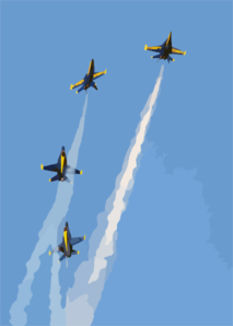 The U.s. Navy S Flight Demonstration Team, The Blue Angels Put On A Spectacular Show During The Annual Naval Air Station Lemoore Air Show. Clip Art