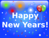 New Years Banners Clip Art