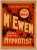 The Great Mcewen, Famous Scottish Hypnotist Clip Art