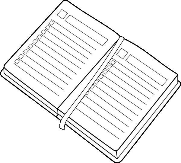 Calendar Illustration Png : Planner clip art at clker vector online