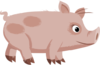 Inhabitants Npc Piggy Clip Art