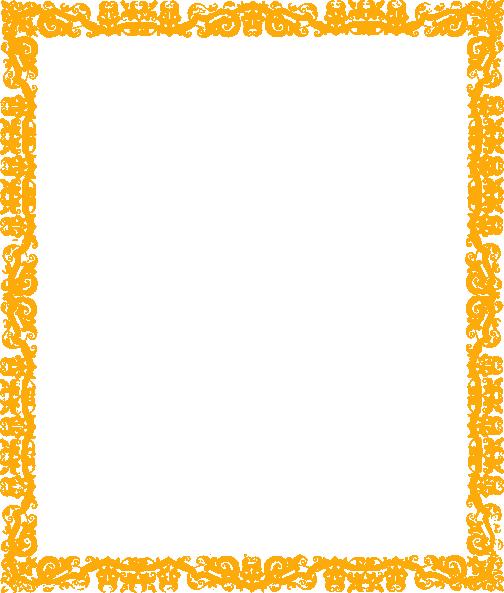 Orange Border Clip Art at Clker.com - vector clip art ...