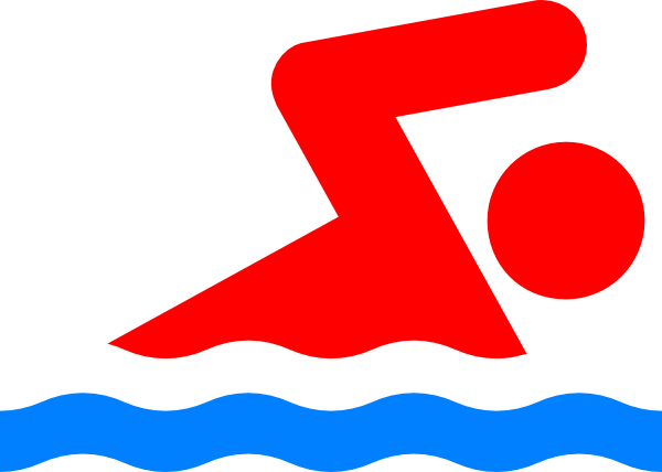 swimming person again clip art at clker com