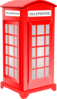 British Phone Booth Clip Art