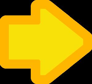 Yellow Arrows Clip Art at Clker.com - vector clip art ...
