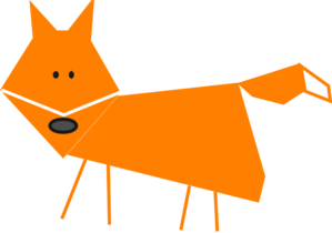 Cute Fox Clip Art