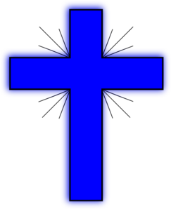 Blue Cross 2 Clip Art At Clker Com Vector Clip Art