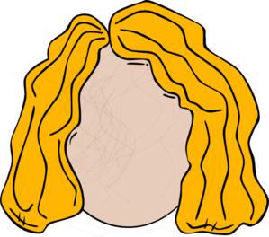Blond Woman Clip Art