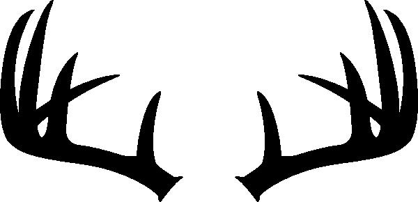 left antler clip art at clker com