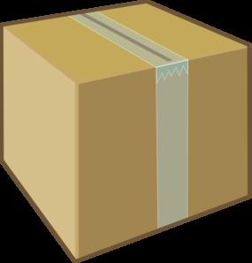 Cardboard Box Clip Art at Clker.com - vector clip art ...