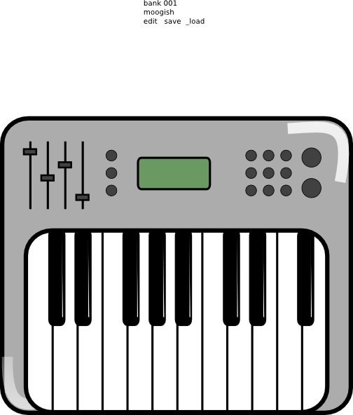 Keyboard Clip Art at Clker.com - vector clip art online ...