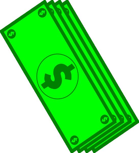 Dollar Bills Clip Art at Clker.com - vector clip art ...
