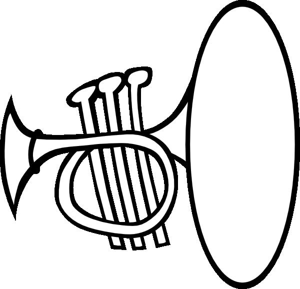 silly trumpet clip art at clker  vector clip art