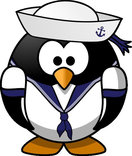 Sailor Penguin Clip Art At Clker.com