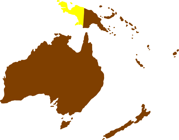Montessori Australia Continent Map Clip Art at Clker.com - vector ...