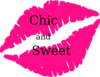 Hot Pink Lips Clip Art