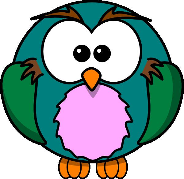 Cute Owl Cartoon Clip Art at Clker.com - vector clip art ...
